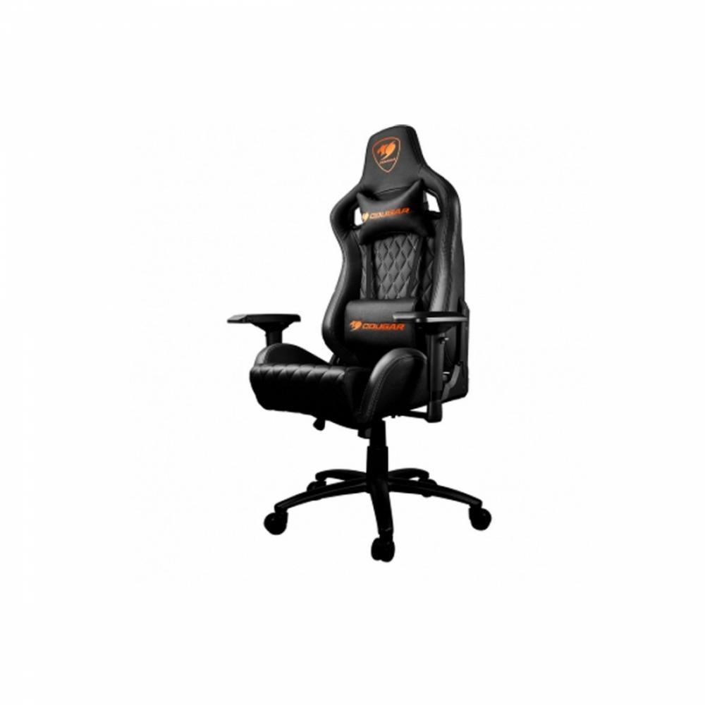 Кресло Cougar Fusion Black