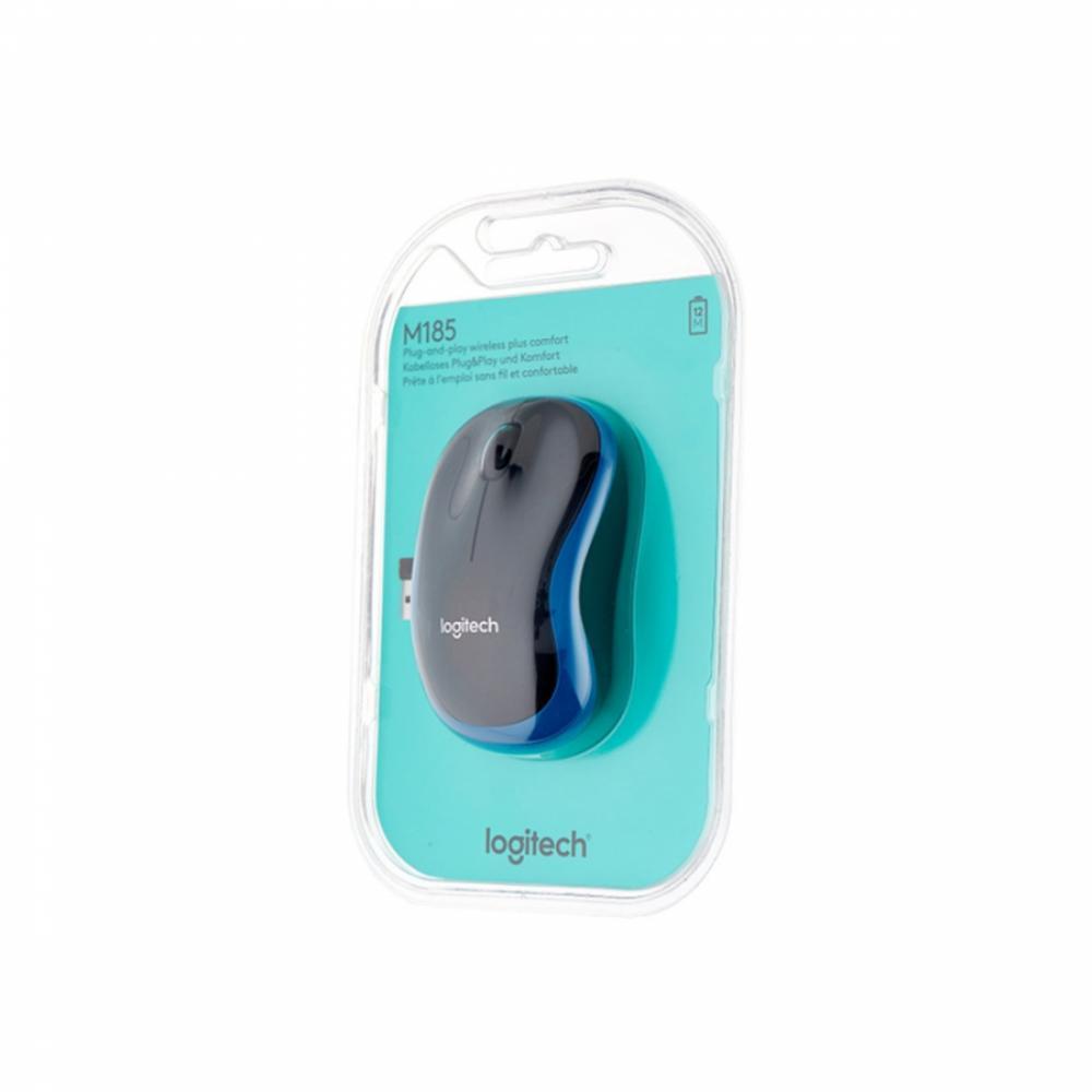 Мышь Logitech M185 Blue