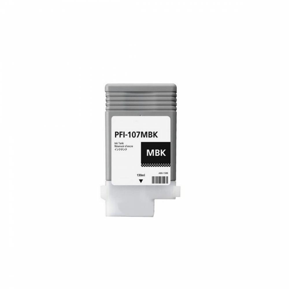 Картридж PFI107 MBK (130 ml)