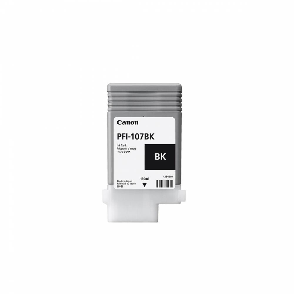Картридж PFI107 BK (130 ml)