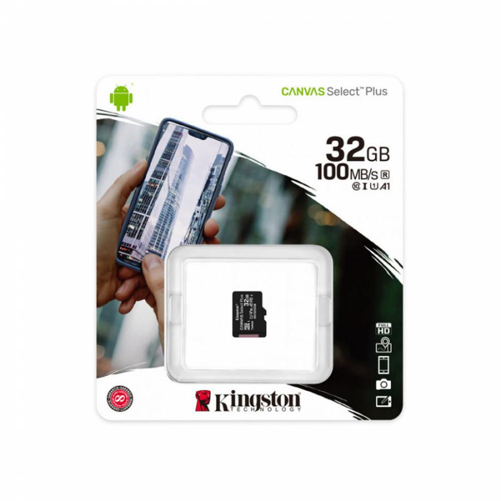 Карта памяти Kingston Canvas Select Plus microSD SDCS2/32GBSP