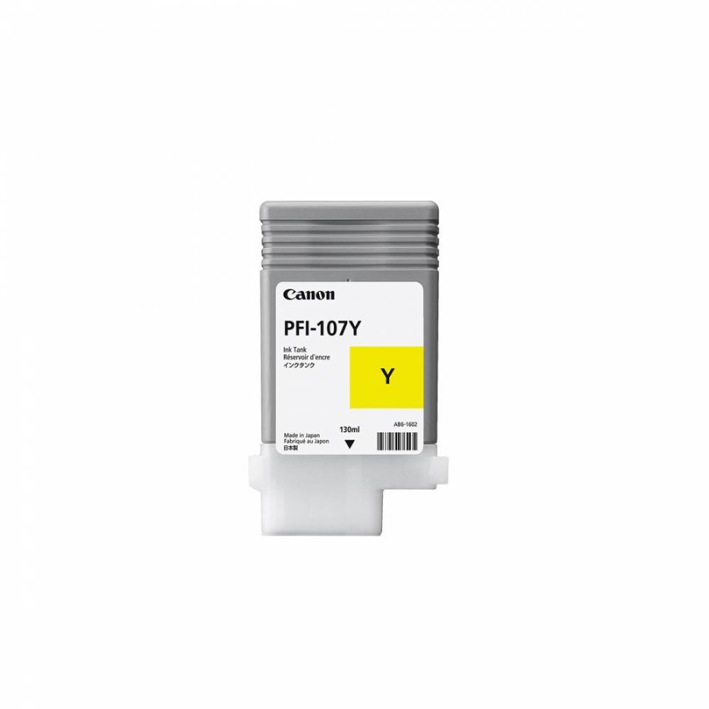 Картридж PFI107 Y (130 ml)