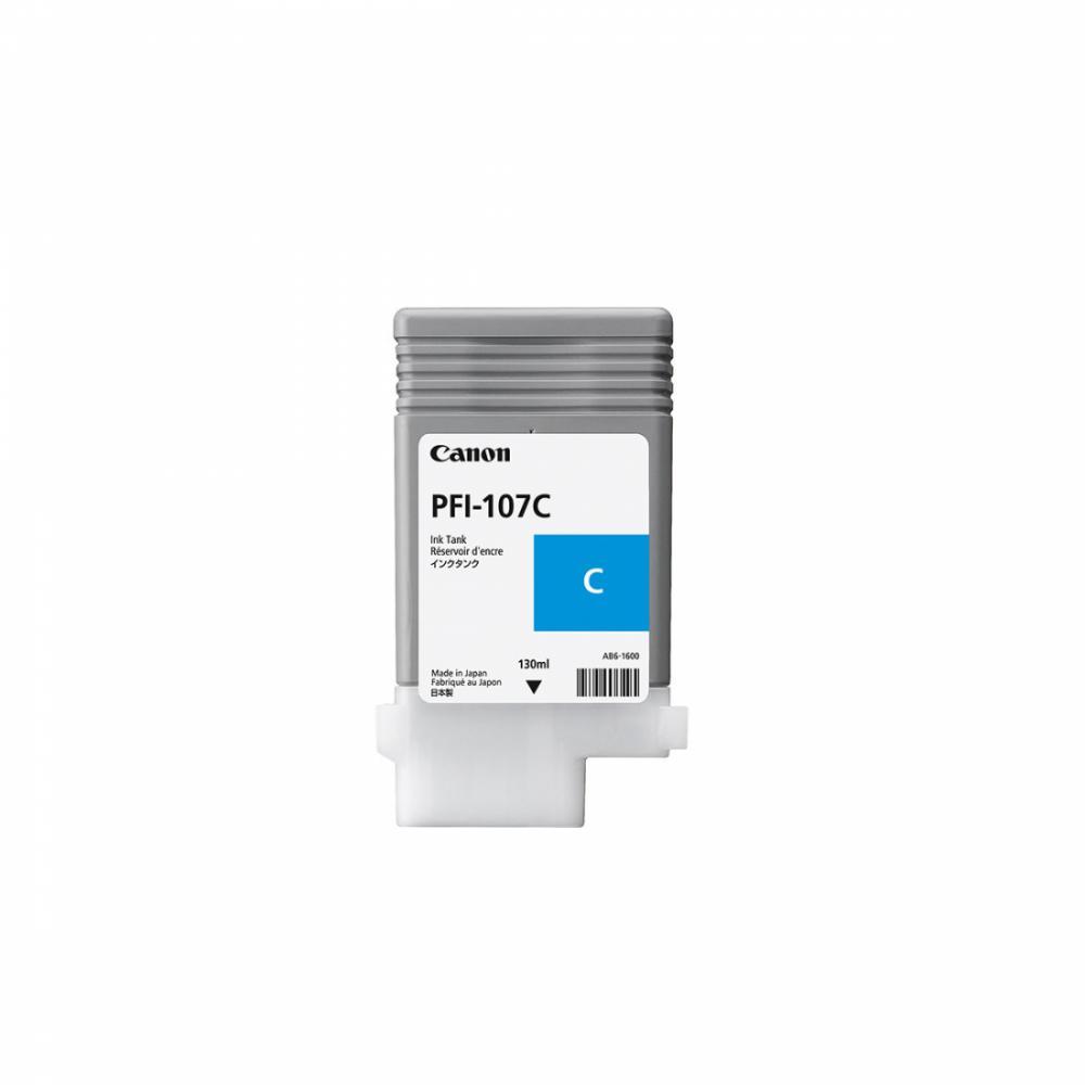 Картридж PFI107 C (130ml)