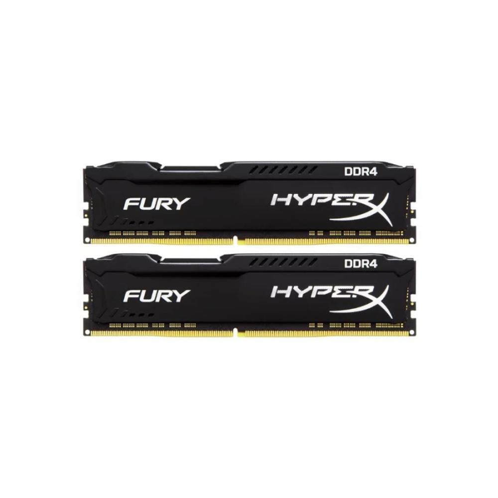 Модуль памяти HyperX FURY 32GB Kit (2x16GB) DDR4/3466 [HX434C19FBK2/32]