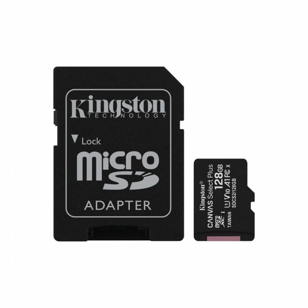 Карта памяти microSDXC 128GB Canvas Select Plus (SDCS2/128GB)