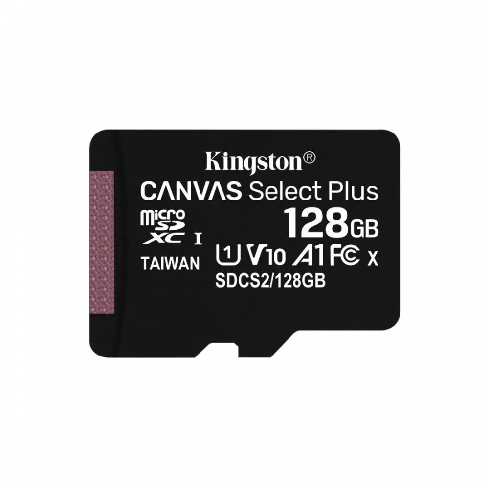 Карта памяти Kingston microSDXC 128GB Canvas Select Plus (SDCS2/128GB)