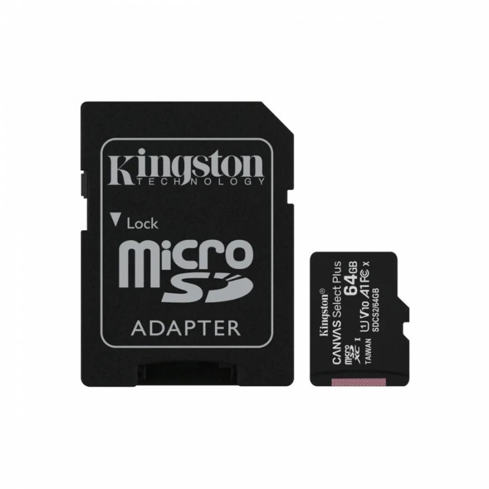 Карта памяти microSDXC 64GB Canvas Select Plus (SDCS2/64GB)