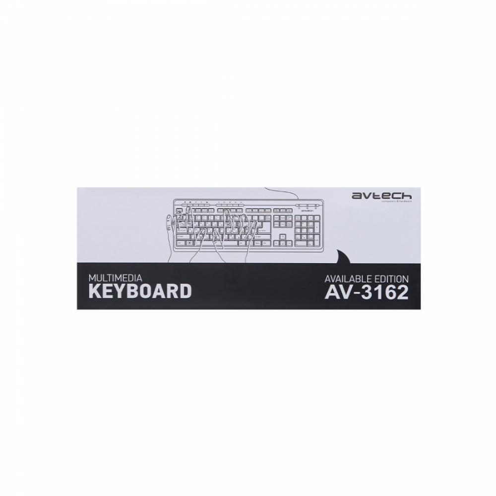Клавиатура AVTECH AV-3162 USB