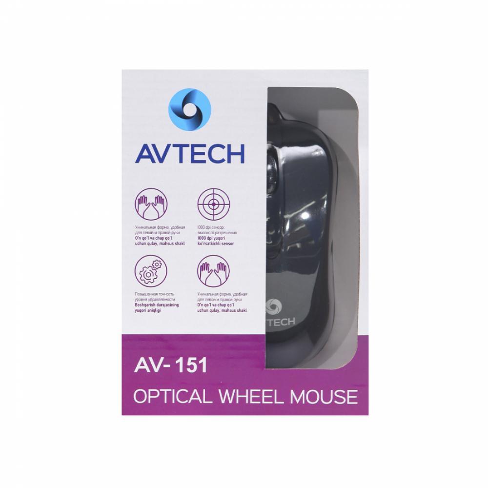 Мышь AVTECH AV-151 USB