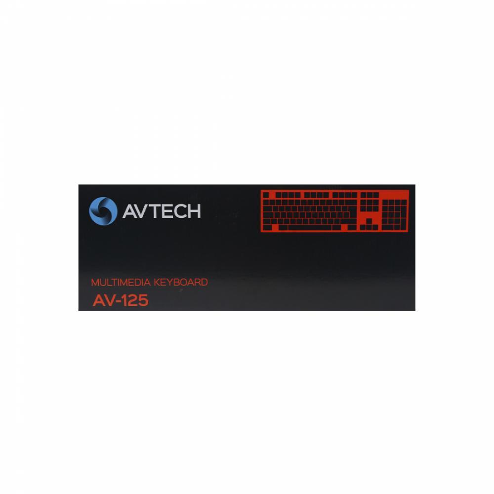 Клавиатура AVTECH AV-125 USB