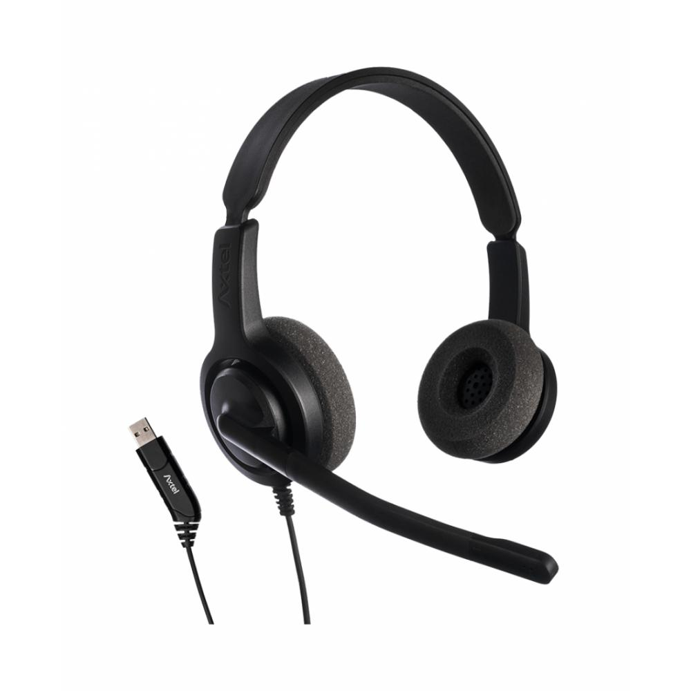 Axtel Гарнитура Voice USB28 duo NC