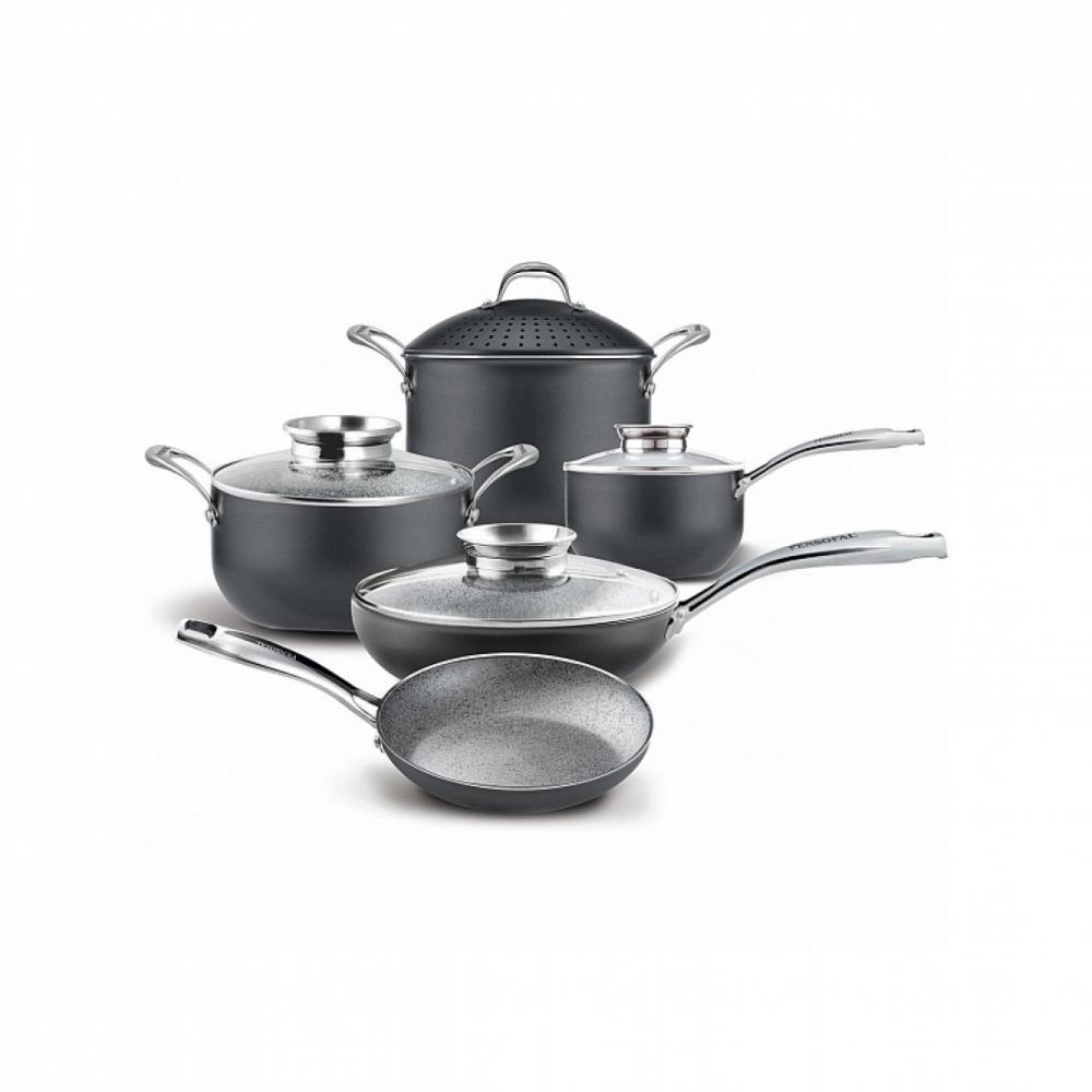 Набор посуды с гранитным покрытием Pensofal INVICTUM 9 Серый