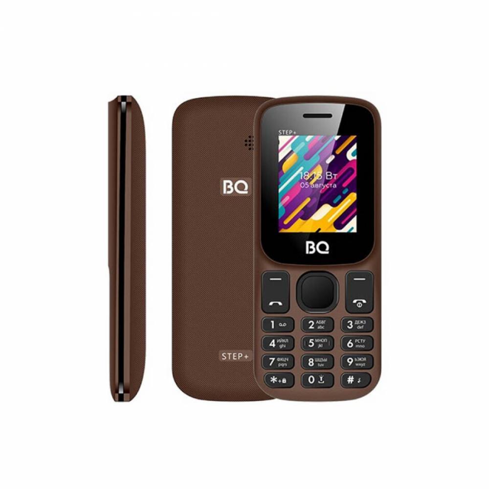 Кнопочный Телефон BQ Step+ Коричневый