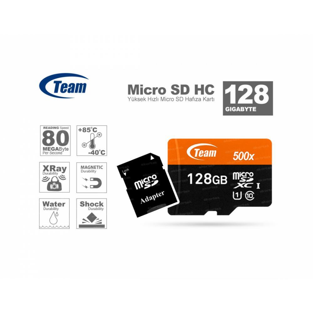 Карта памяти Team Micro 128GB 10class