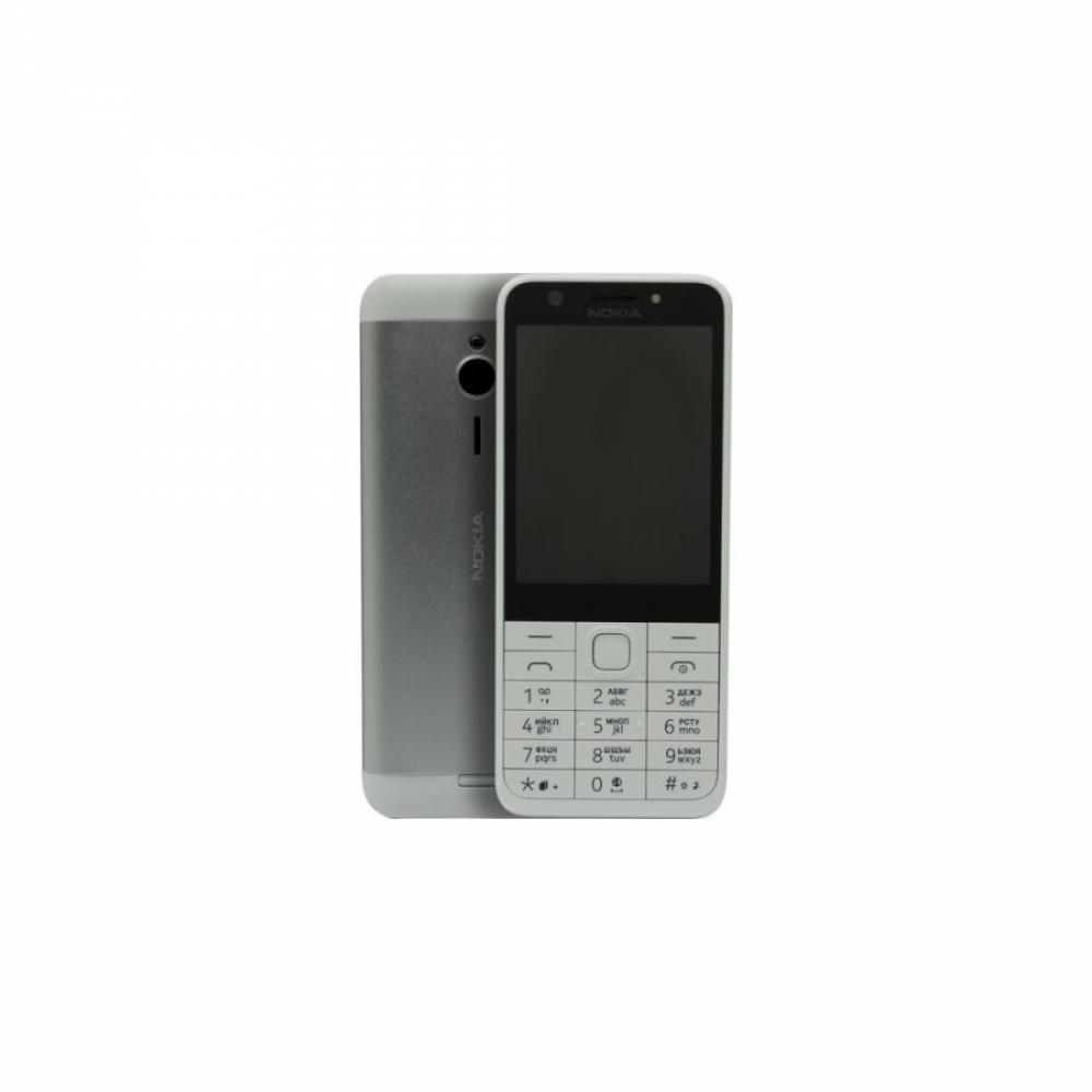 Кнопочный Телефон NOKIA 230 Серебристый