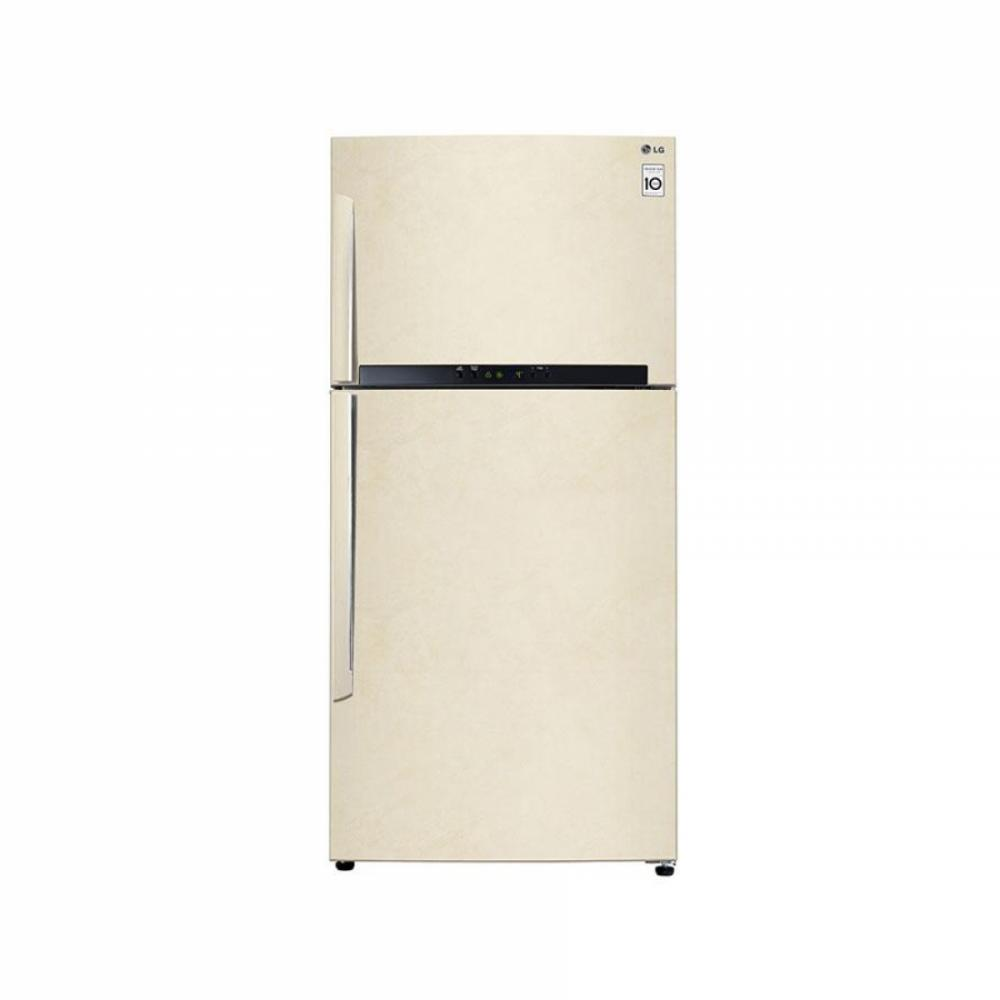 Холодильник LG GN-H702HEHU Бежевый