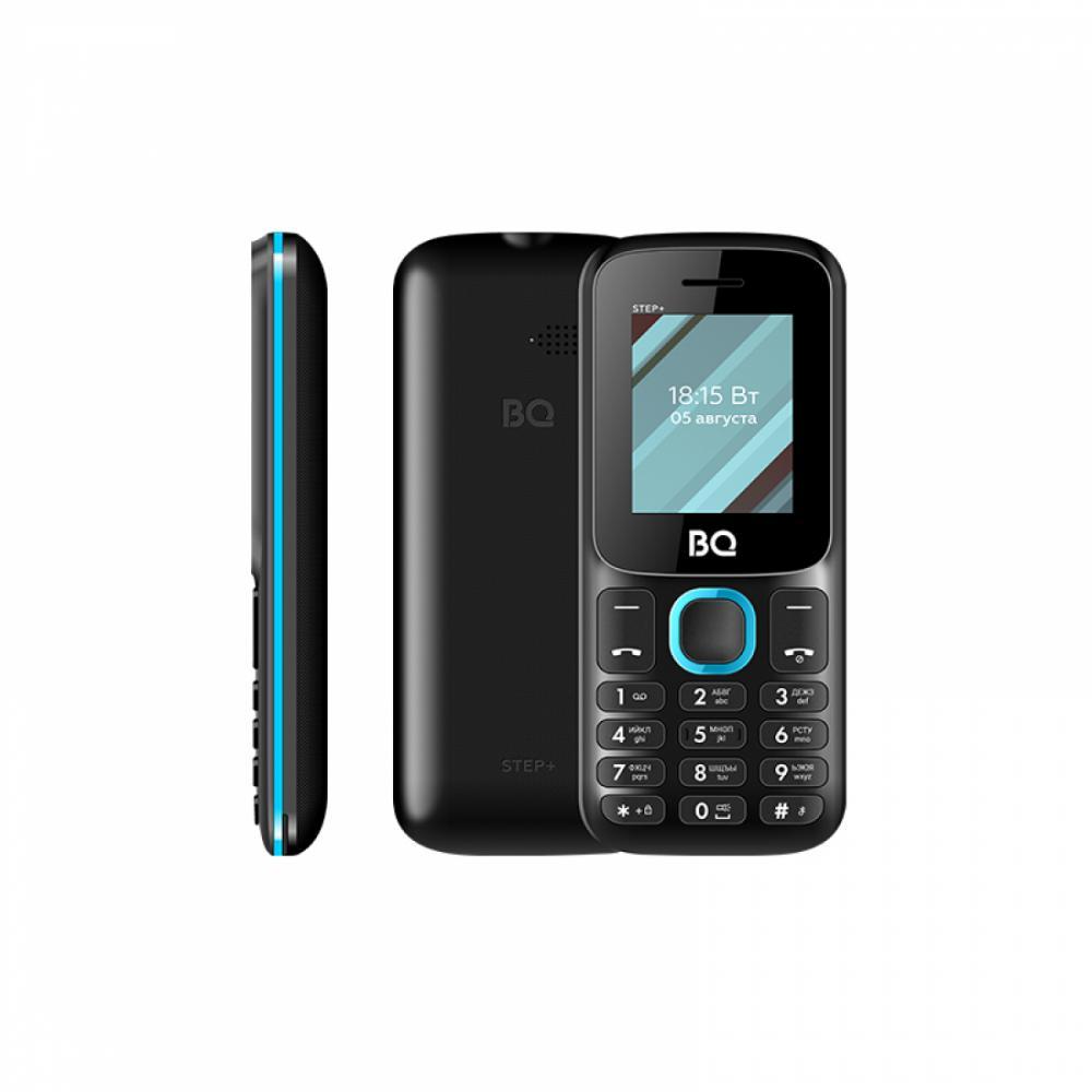 Кнопочный Телефон BQ 1848 STEP+ Чёрный/ Голубой