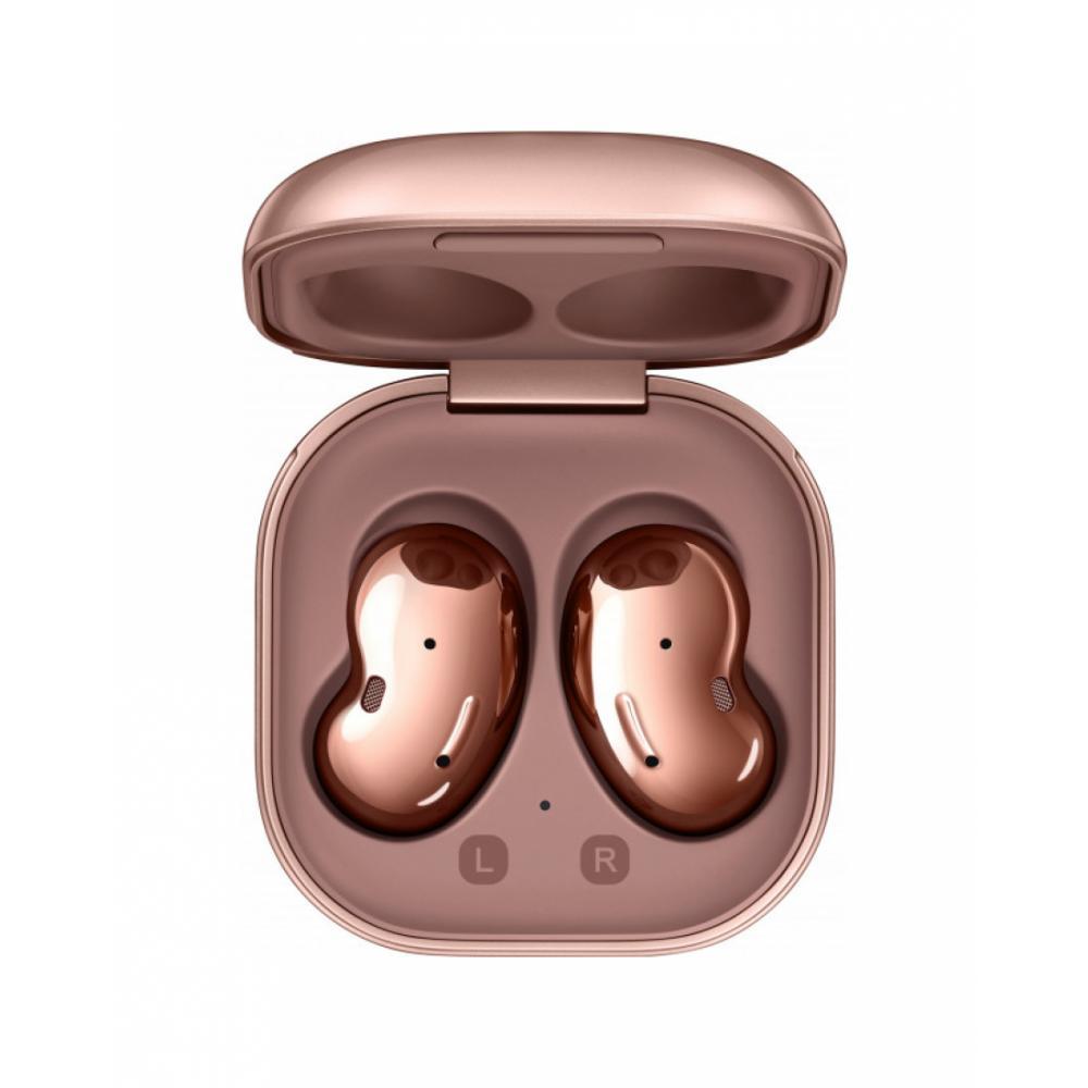 Bluetooth garnitura Samsung Buds Live Бронзовый