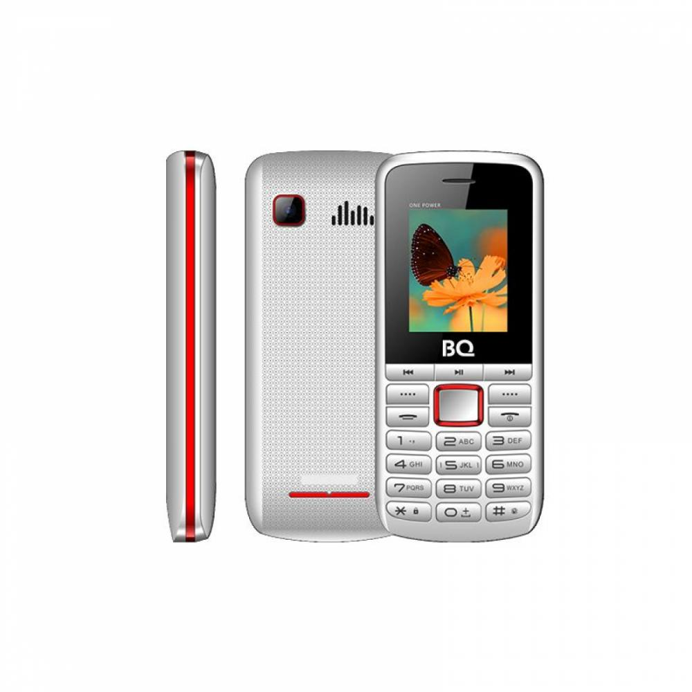 Knopochniy Telefon BQ 1846 One Power Белый/ Qizil