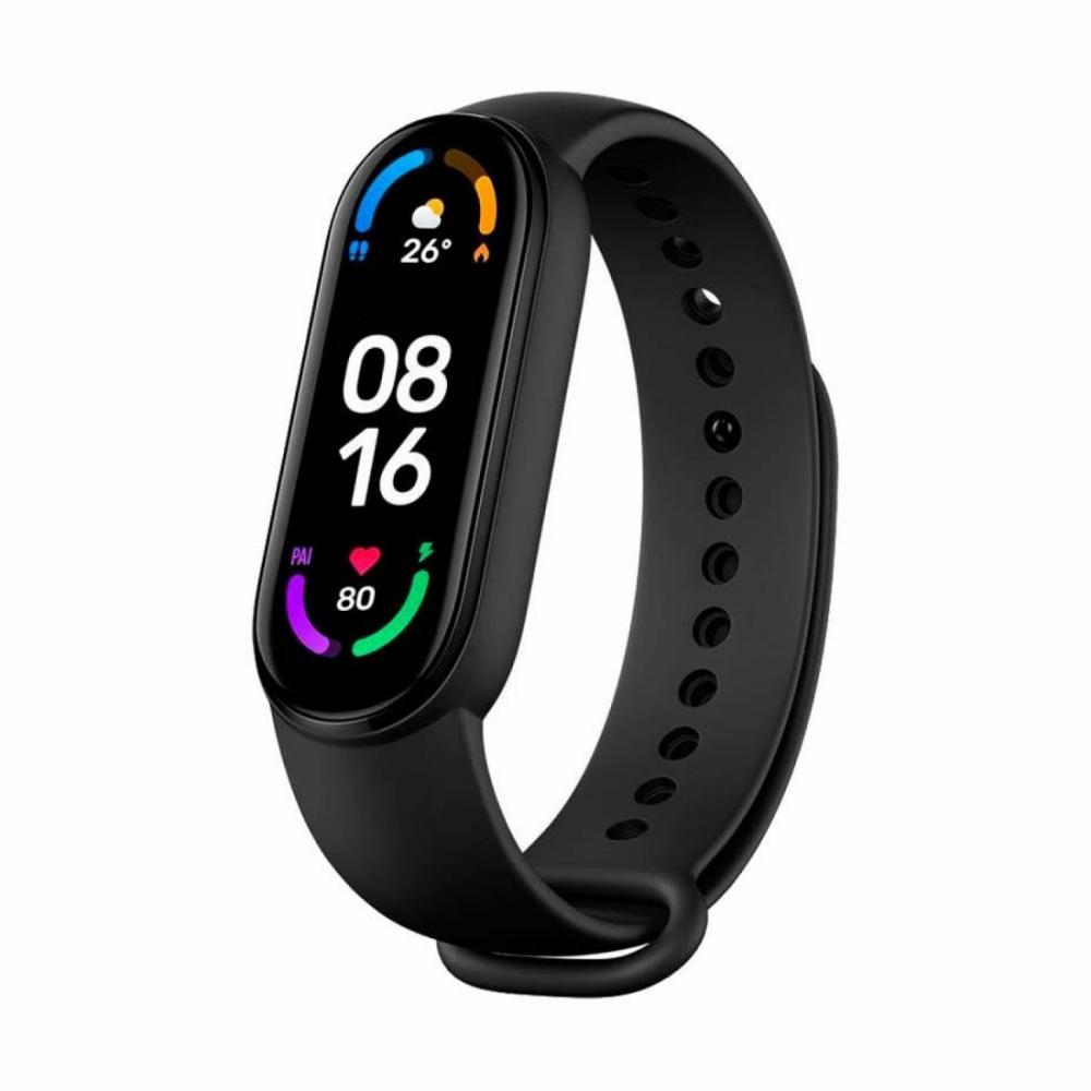 Fitnes-braslet Xiaomi Mi Smart Band 6 Qora