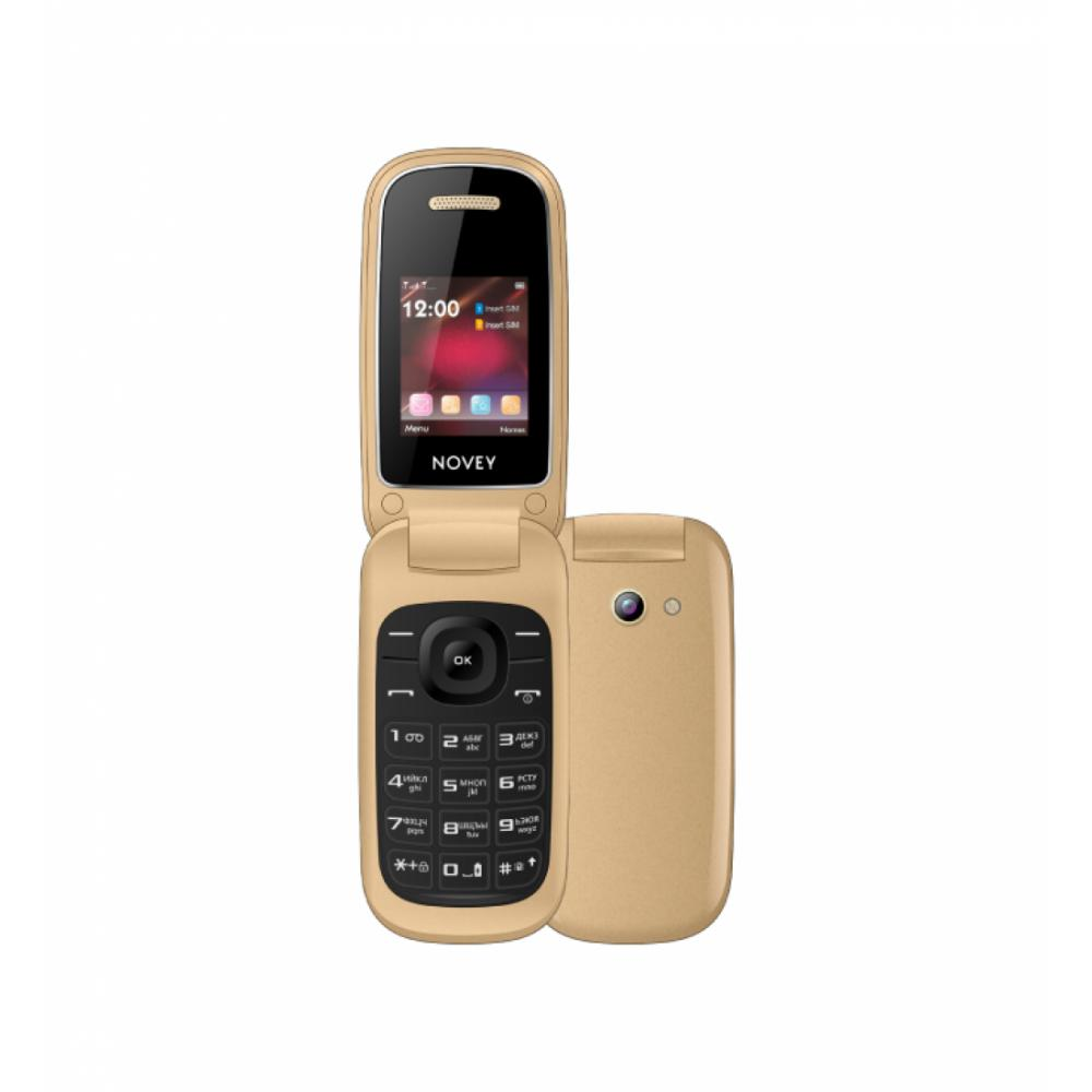 Кнопочный Телефон Novey 118 Золотой