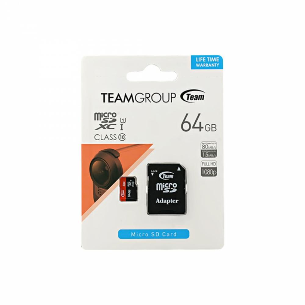 Карта памяти Team Micro 64GB 10class