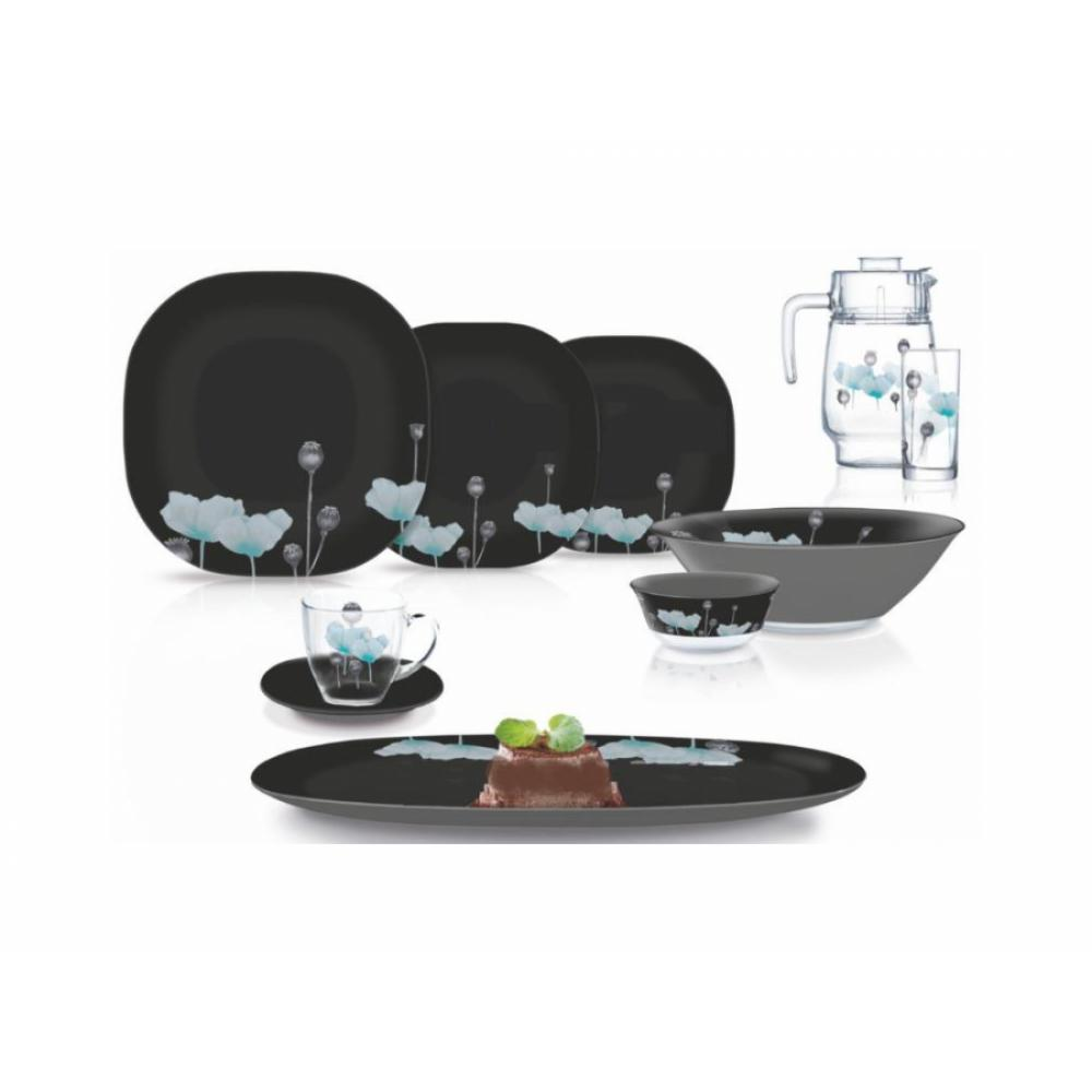 Комплект сервировочной посуды Luminarc Carine Angelique Turquoise Neo