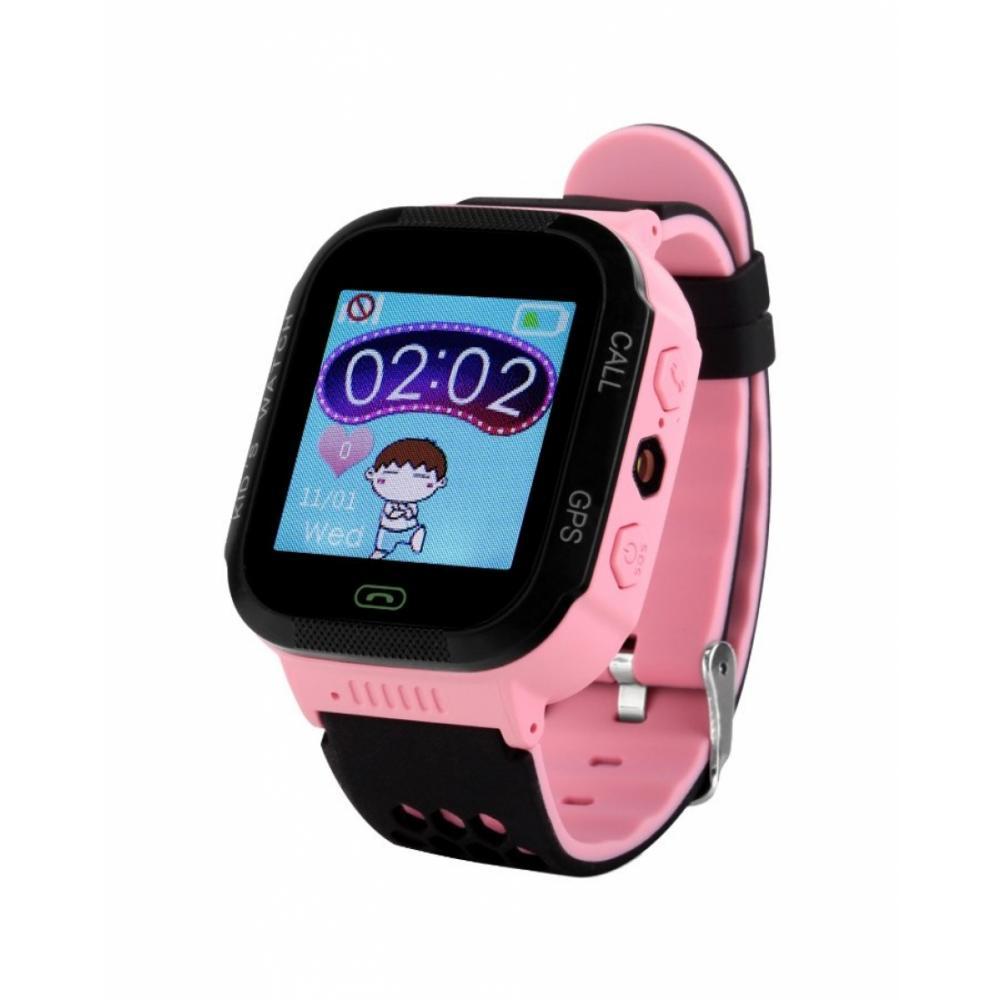 Детские умные часы Wonlex GW500S Розовый