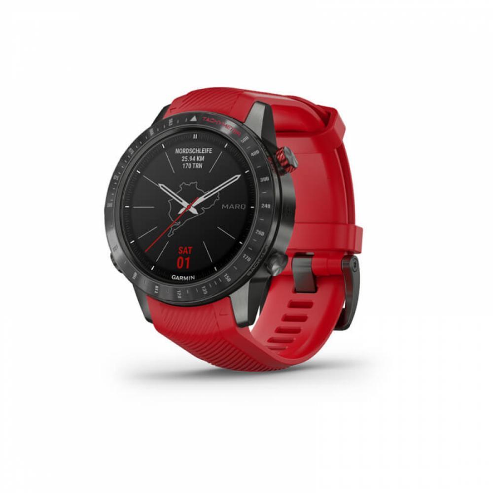 Умные часы Garmin  MARQ Driver Plasma Красный
