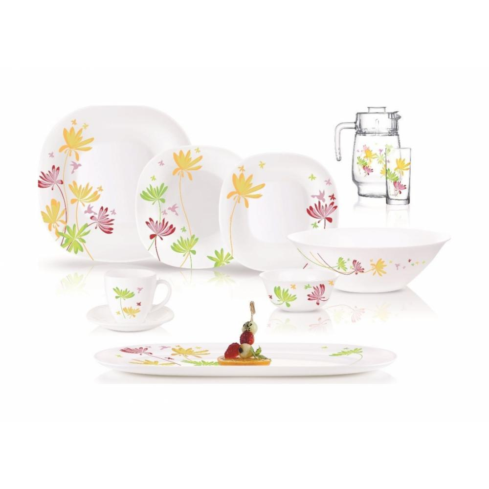 Комплект сервировочной посуды Luminarc Crazy Flowers