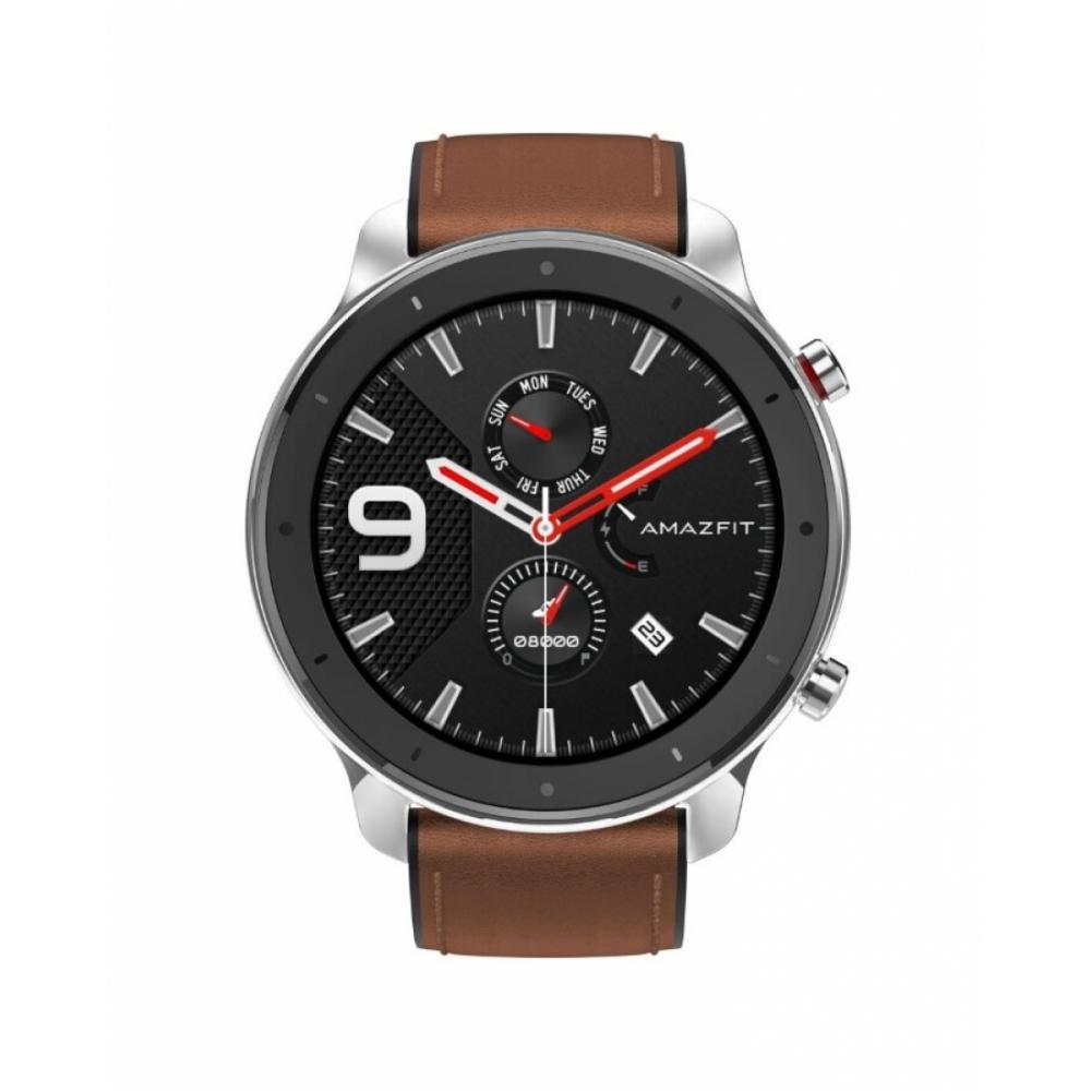 Умные часы Xiaomi Amazfit GTR Stainless steel (47mm) Серебристый