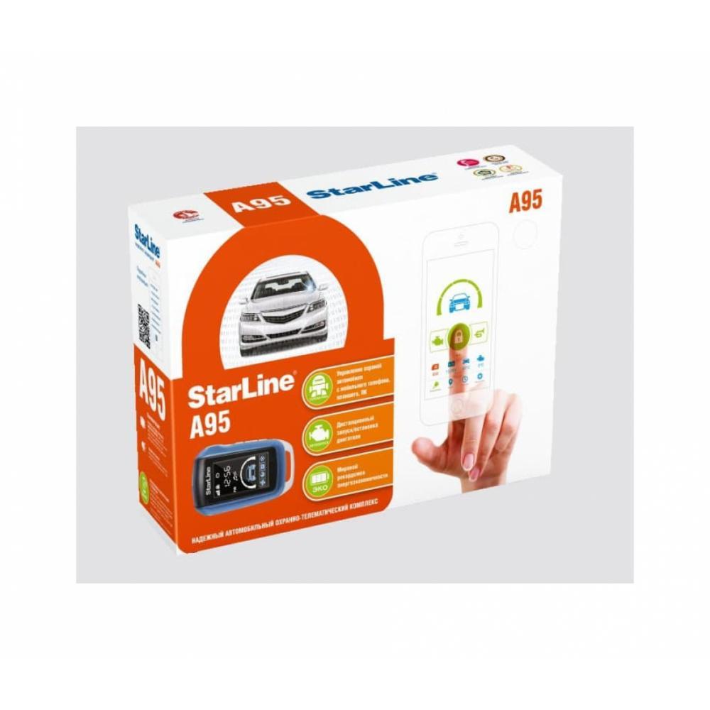 Автомобил сигнализацияси Starline S96 BT 2CAN+2LIN GSM