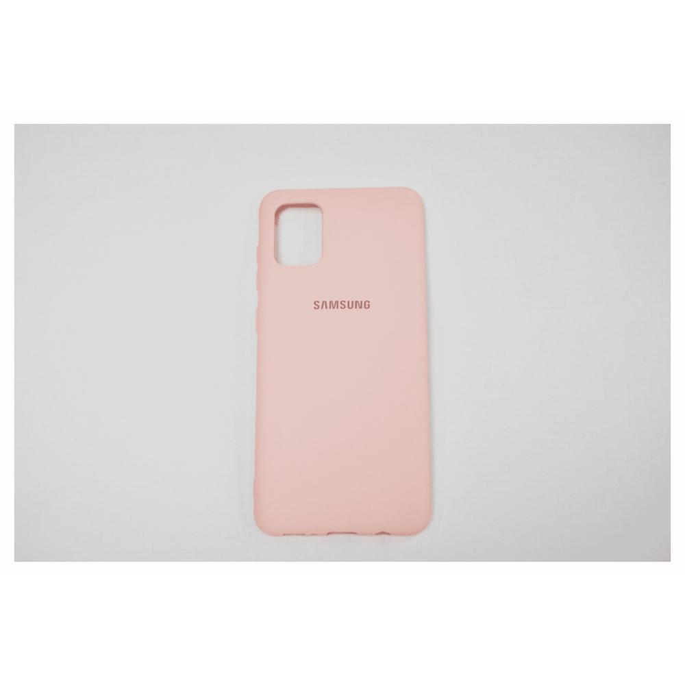 Telefon uchun chexol Samsung A31 Oltin pushti