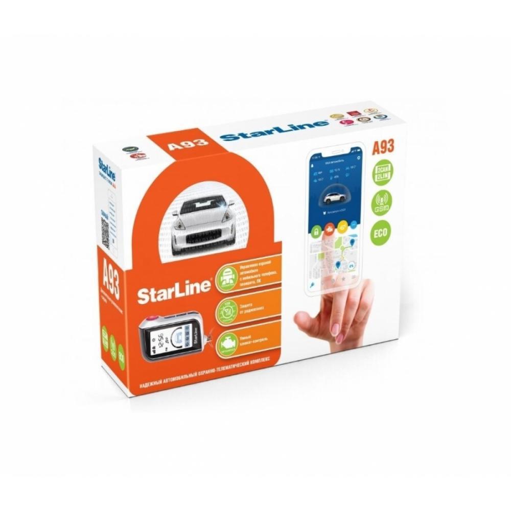 Автомобильная сигнализация Starline A93 2CAN+2LIN GSM ECO