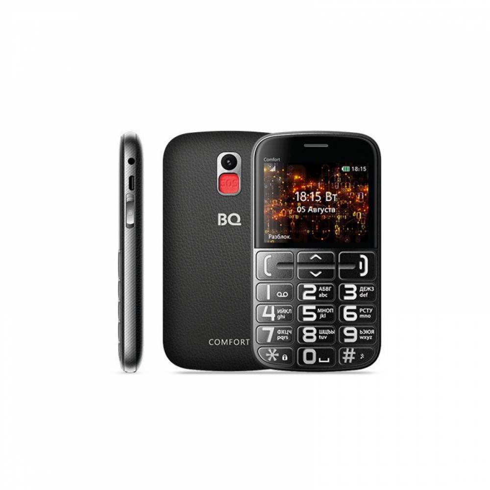 Knopochniy Telefon BQ 2441 Comfort Qora