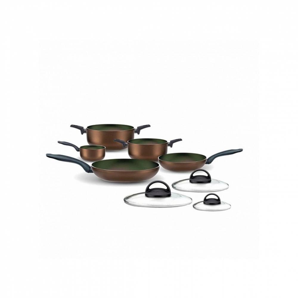 Набор посуды с гранитным покрытием Pensofal DIAMANTE 8 Коричневый
