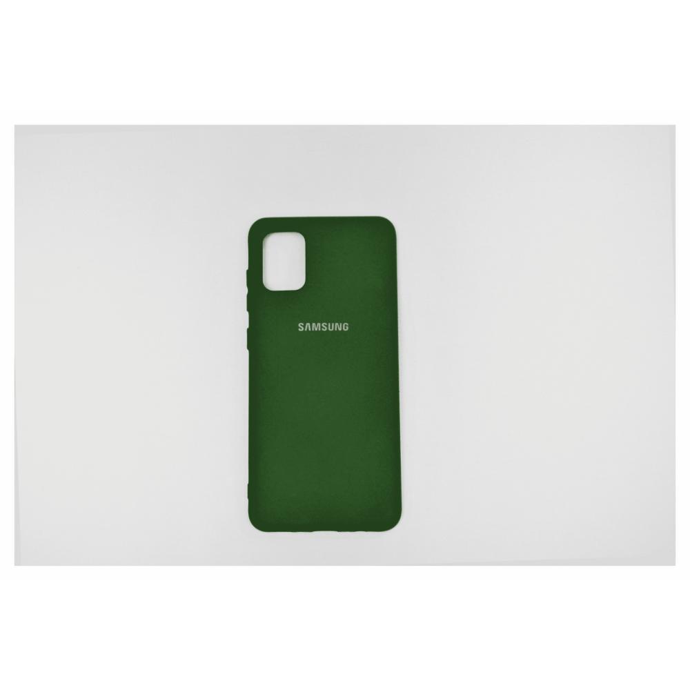 Telefon uchun chexol Samsung A31 Yashil