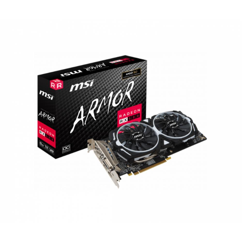Видеокарта MSI Radeon RX 580 ARMOR 8G OC