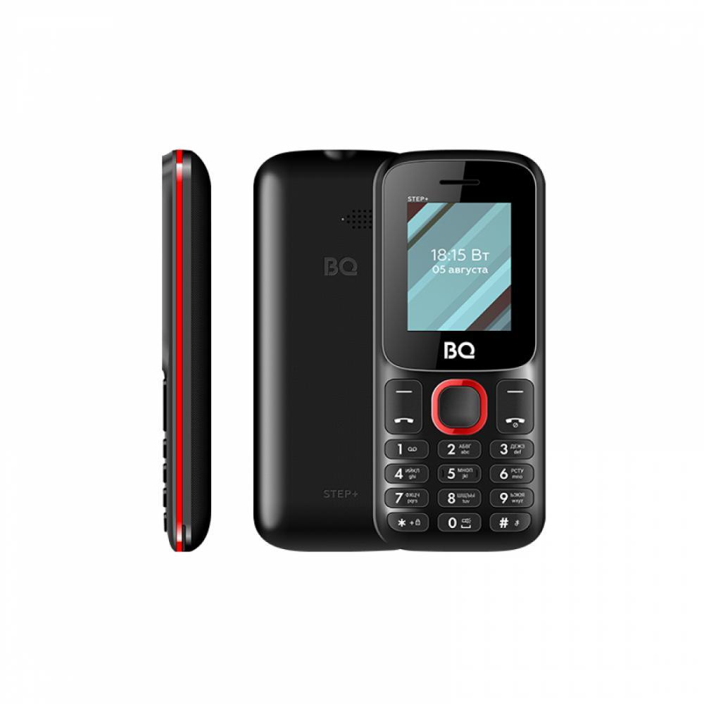 Кнопочный Телефон BQ 1848 STEP+ Чёрный/ Красный