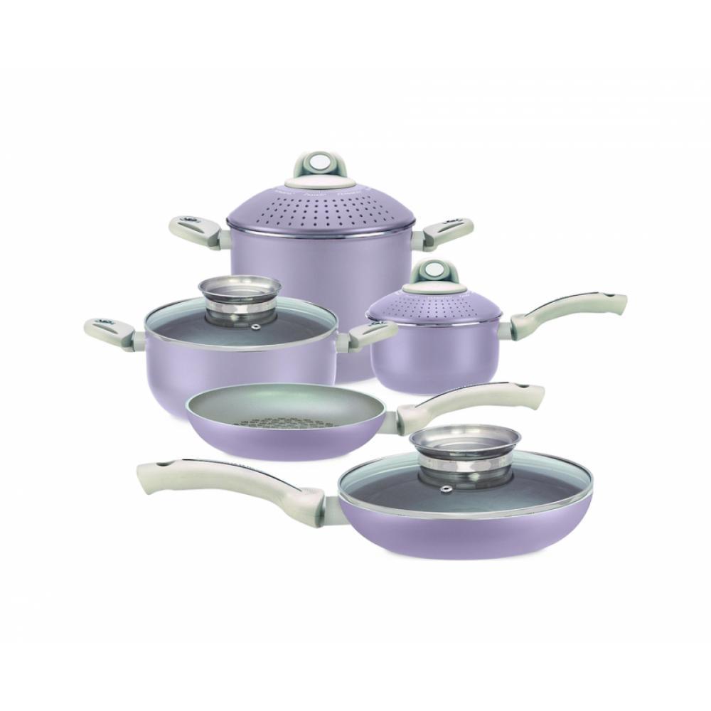 Набор посуды с гранитным покрытием Pensofal DIAMOND Rose 5 Фиолетовый