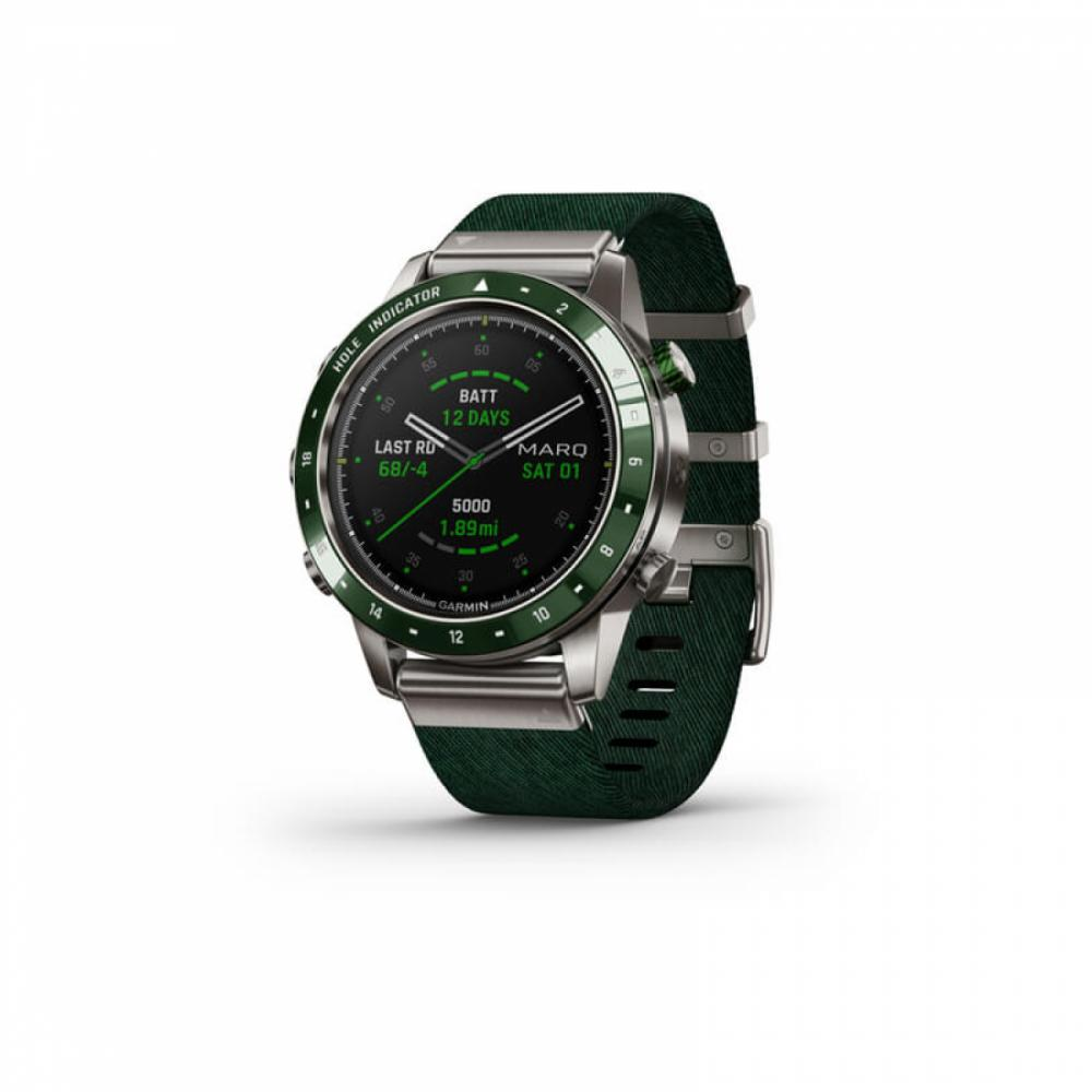 Умные часы Garmin  MARQ Golf Зелёный