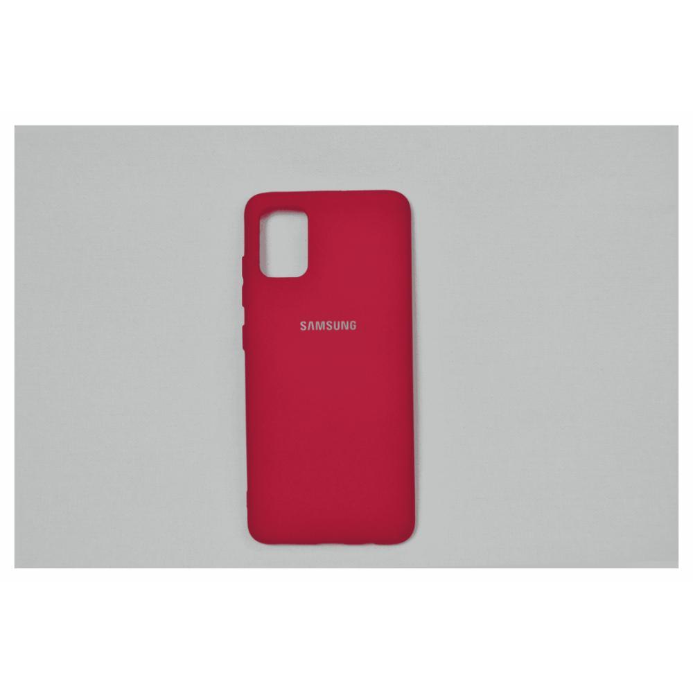 Telefon uchun chexol Samsung A51 Qizil