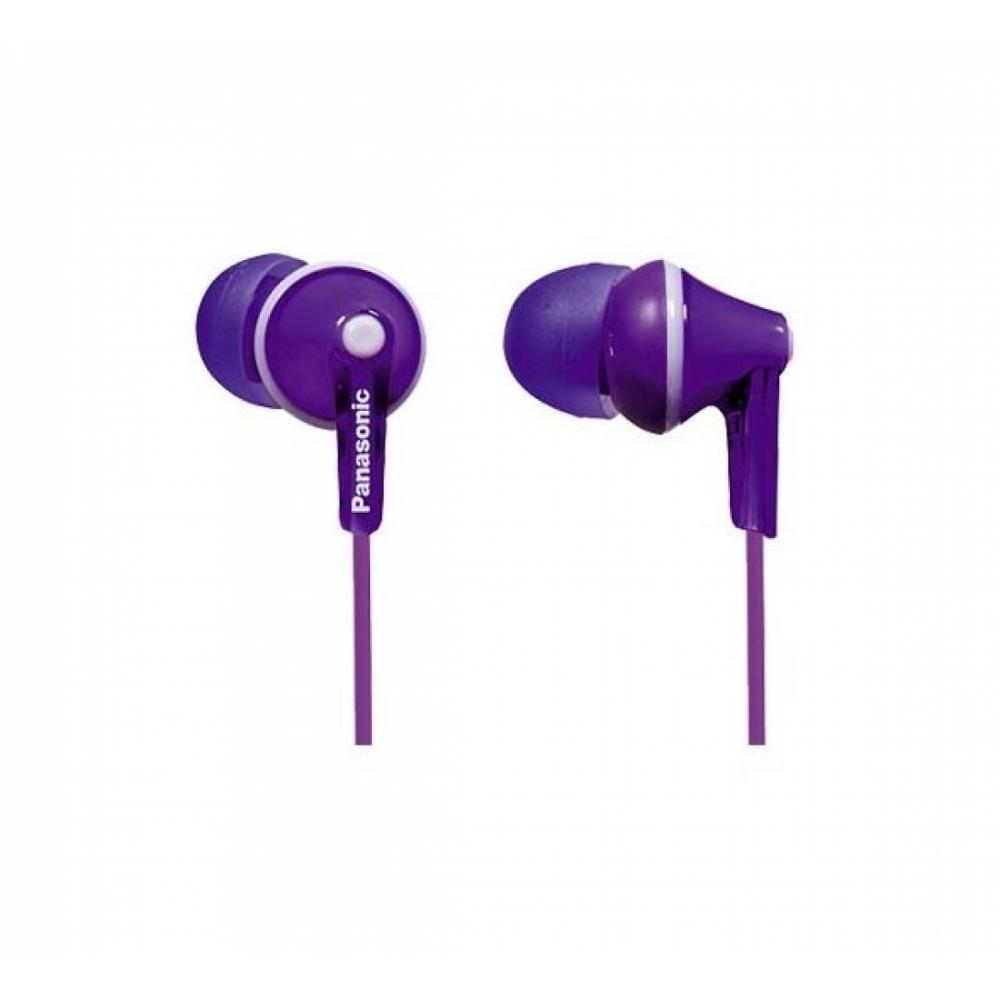 Panasonic Проводные наушники RP-HJE125 Purple