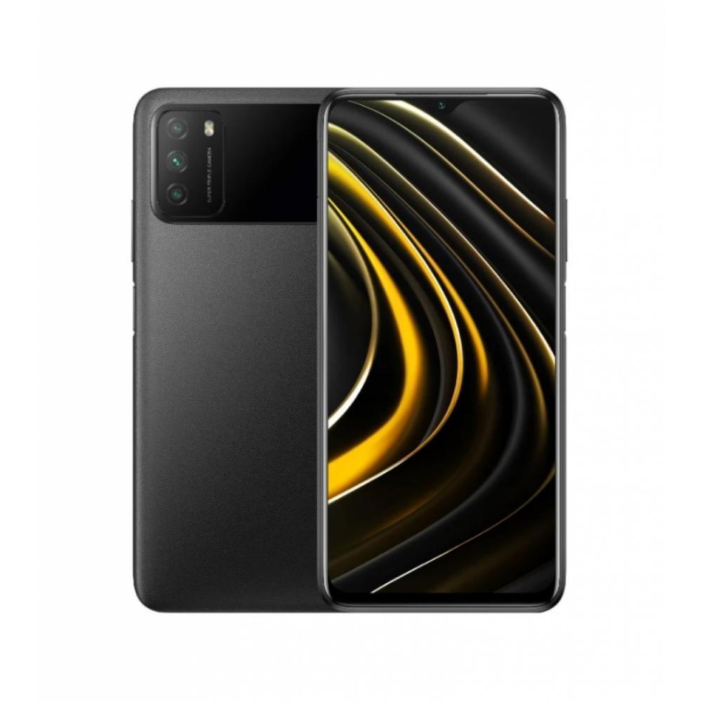 Smartfon Xiaomi Poco M3 4 GB 64 GB Qora