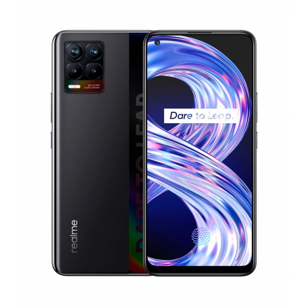 Smartfon Realme 8 6 GB 128 GB Qora