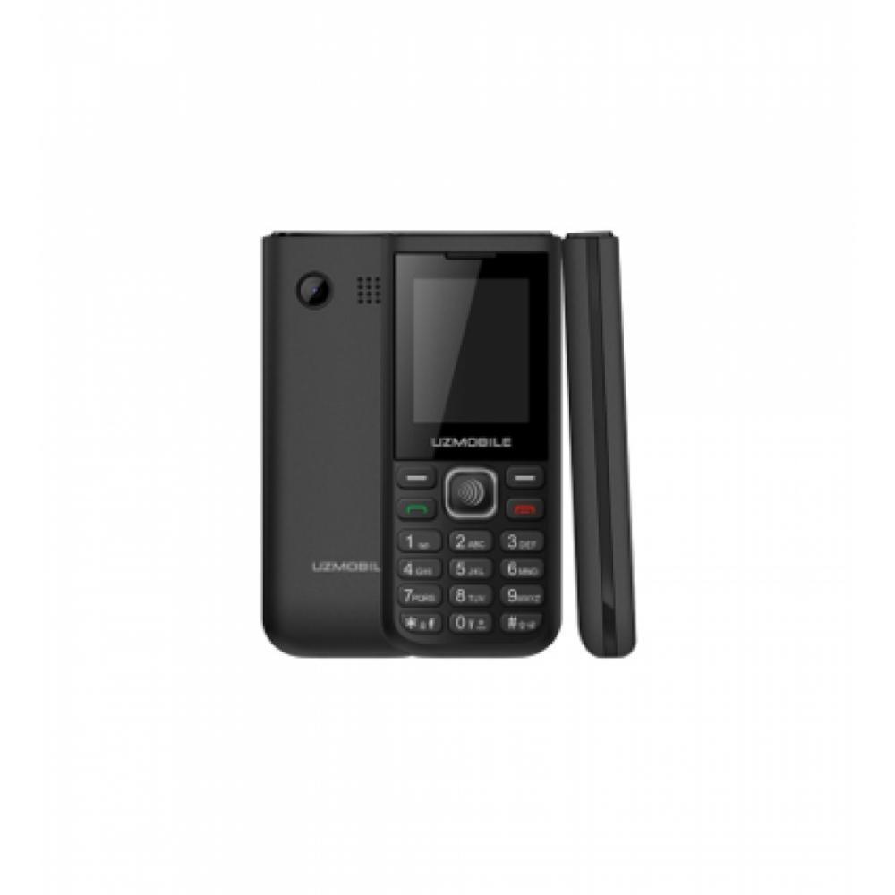 Кнопочный Телефон Uzmobile A10 Ruber Чёрный