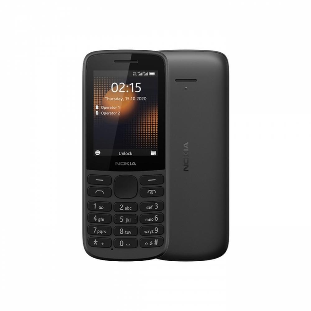 Knopochniy Telefon NOKIA 215 4G Qora