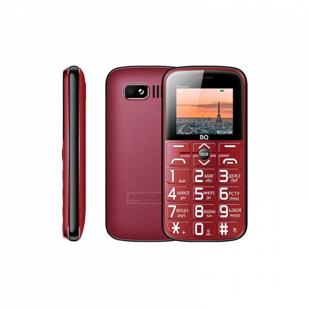 Knopochniy Telefon BQ 1851 Respect Qizil