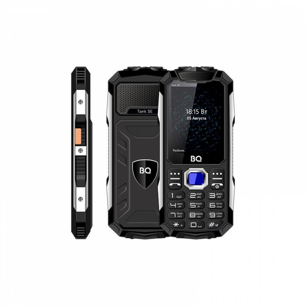 Knopochniy Telefon BQ 2432 Tank SE black Qora